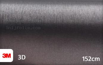 3M 1080 BR201 Brushed Steel snijfolie