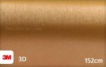 3M 1080 BR241 Brushed Gold snijfolie
