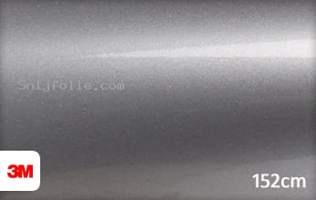 3M 1080 G251 Gloss Sterling Silver snijfolie