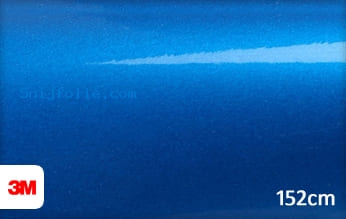 3M 1080 G337 Gloss Blue Fire snijfolie