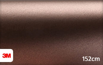 3M 1380 M219 Matte Brown Metallic snijfolie