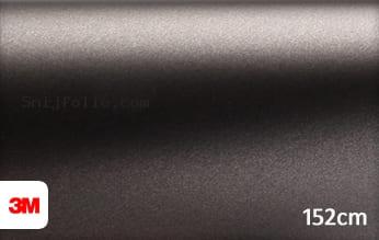 3M 1380 M221 Matte Charcoal Metallic snijfolie