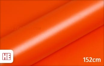 Hexis HX20165M Mandarin Red Matt snijfolie