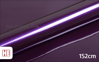Hexis HX20352B Elderberry Purple Gloss snijfolie