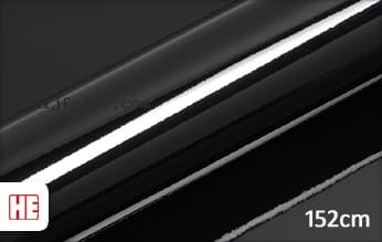 Hexis HX20889B Coal Black Gloss snijfolie