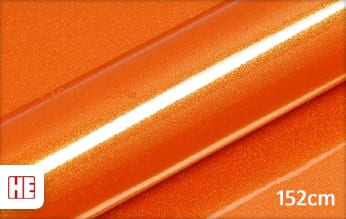 Hexis HX20OAUB Aurora Orange Gloss snijfolie