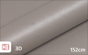 Hexis HX30PGGTAB Grain Leather Taupe Grey Gloss snijfolie