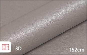 Hexis HX30PGGTAB Grain Leather Taupe Grey Gloss snijfolie