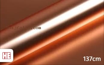 Hexis HX30SCH12S Super Chrome Rose Gold Satin snijfolie