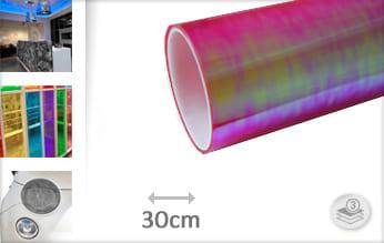 Flipflop roze transparant snijfolie