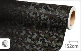 Camouflage digitaal snijfolie