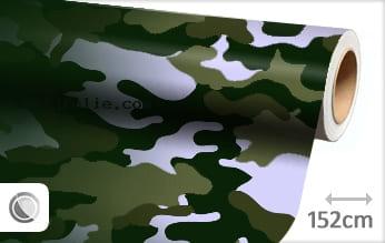 Camouflage groen snijfolie