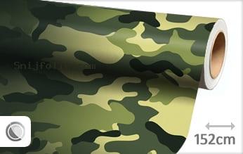 Camouflage oerwoud snijfolie