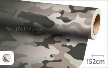 Camouflage snijfolie