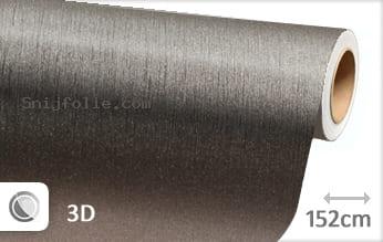Geborsteld aluminium antraciet snijfolie