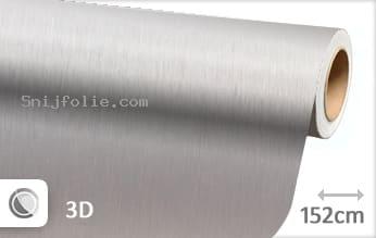 Geborsteld aluminium zilver snijfolie