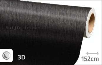 Geborsteld aluminium zwart snijfolie