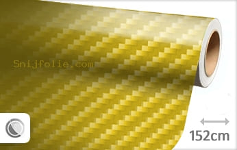 Geel 2D carbon snijfolie