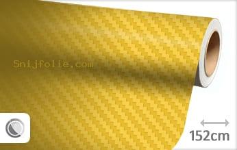 Geel 3D carbon snijfolie