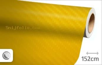 Geel 4D carbon snijfolie