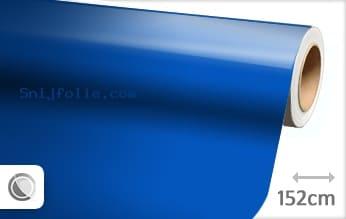 Glans blauw snijfolie