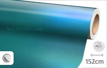 Glans metallic lichtblauw snijfolie