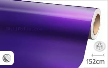 Glans metallic paars snijfolie