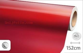 Glans metallic rood snijfolie