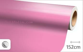 Glans roze snijfolie
