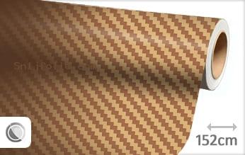 Goud 3D carbon snijfolie