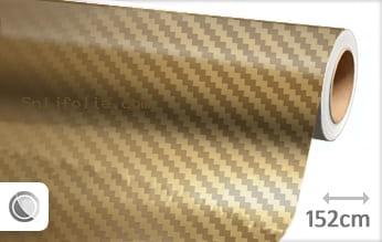 Goud chroom 3D carbon snijfolie