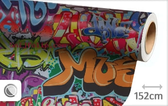 Graffiti snijfolie