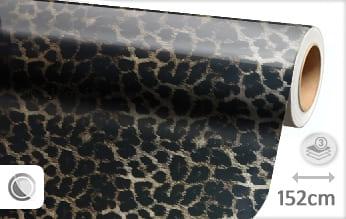 Luipaard print snijfolie