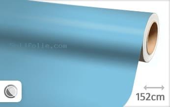 Mat babyblauw snijfolie