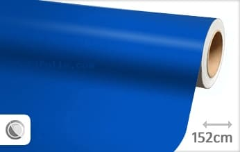 Mat blauw snijfolie