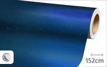 Mat chroom blauw snijfolie