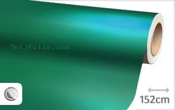 Mat chroom turquoise snijfolie