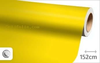 Mat geel snijfolie