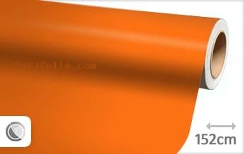 Mat oranje snijfolie