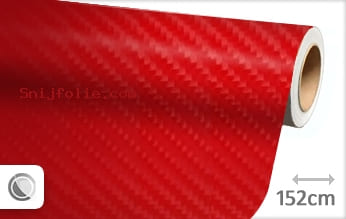 Rood 4D carbon snijfolie