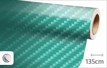 Turquoise 2D carbon snijfolie