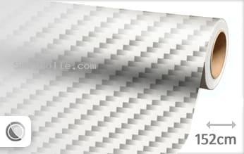 Wit 2D carbon snijfolie