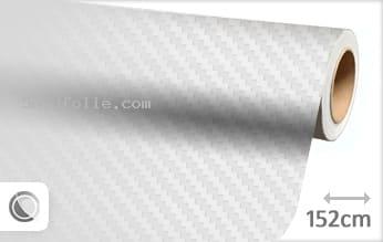 Wit 3D carbon snijfolie