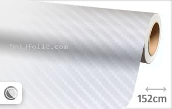Wit 4D carbon snijfolie