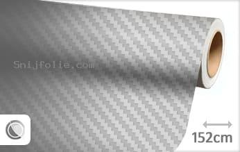 Zilver 3D carbon snijfolie