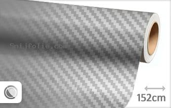 Zilver chroom 3D carbon snijfolie
