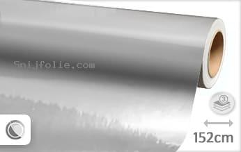 Zilver chroom snijfolie