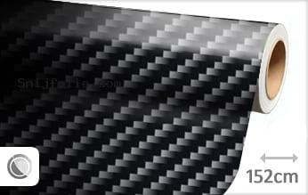 Zwart 2D carbon snijfolie