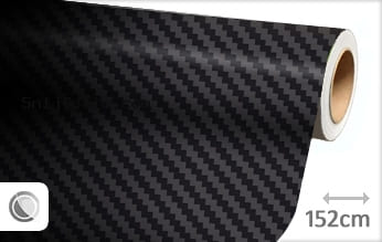 Zwart 3D carbon snijfolie